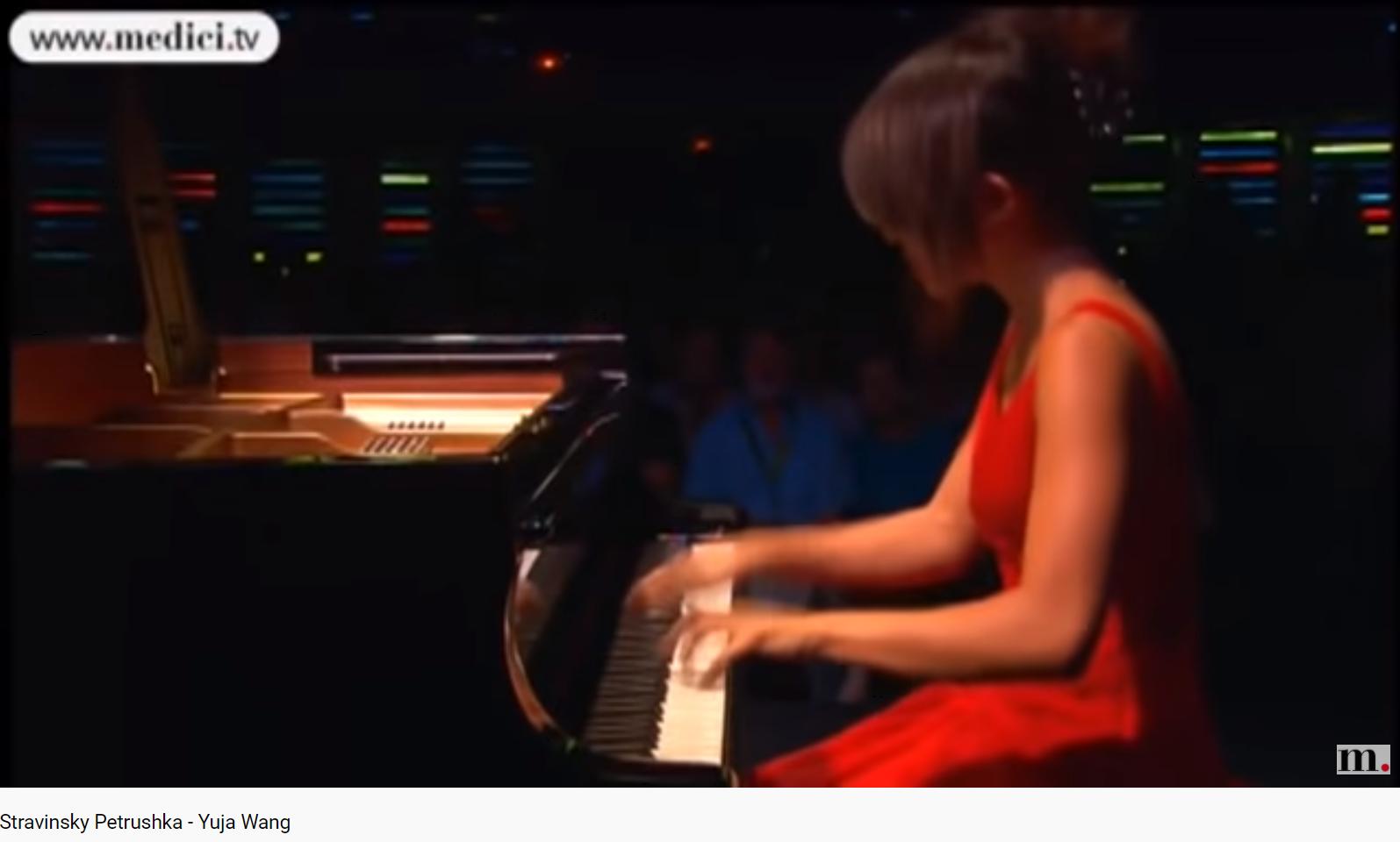 Stravinsky 3 mvts de Pétrouchka pour piano
