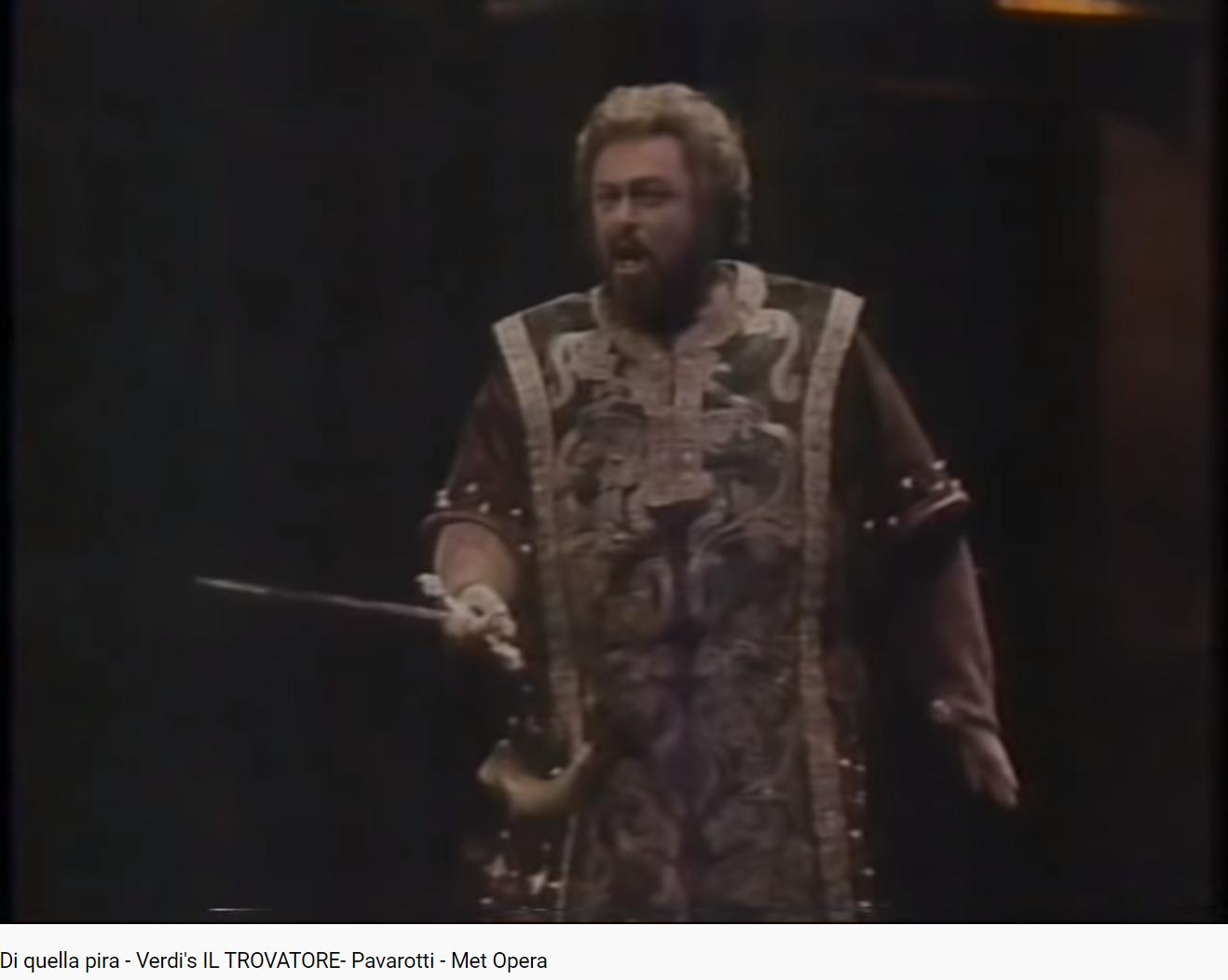 Verdi il Trovatore Di quella pira (MET 1988)