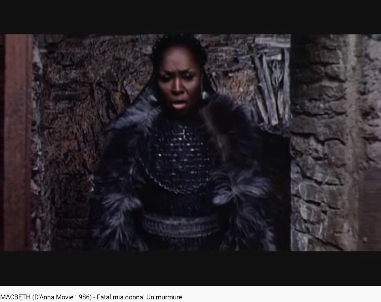 Verdi Macbeth Fatal mia donna !