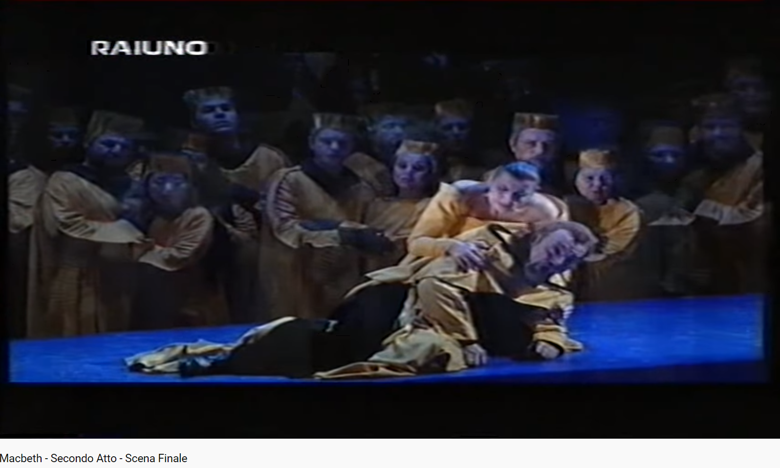 Verdi Macbeth Final acte II