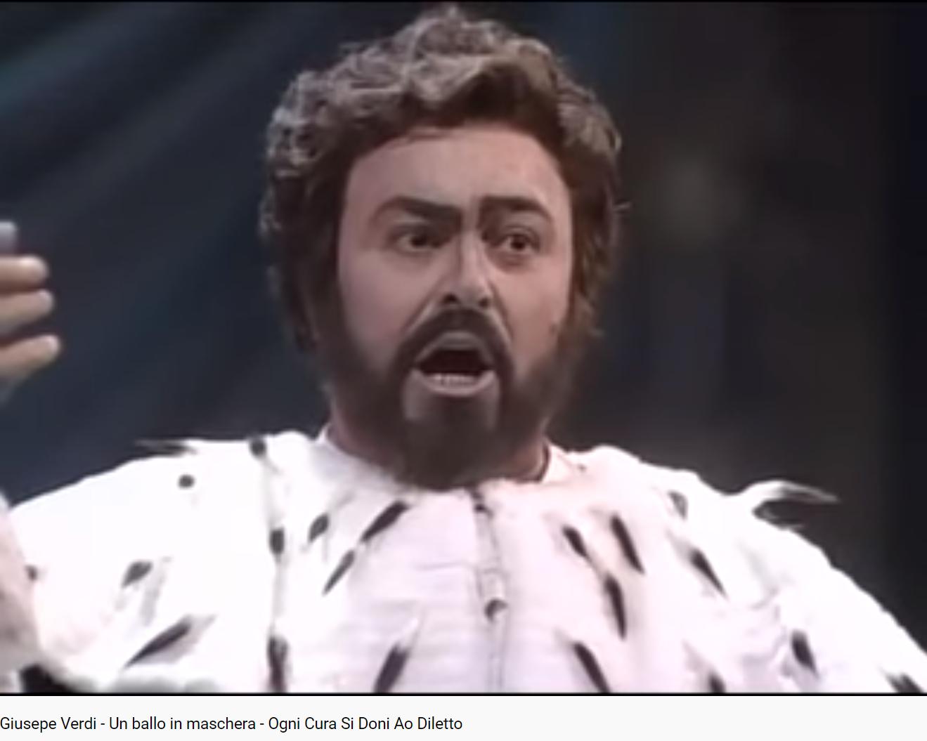 Verdi Un ballo in maschera Ogni cura si doni (MET 1991)