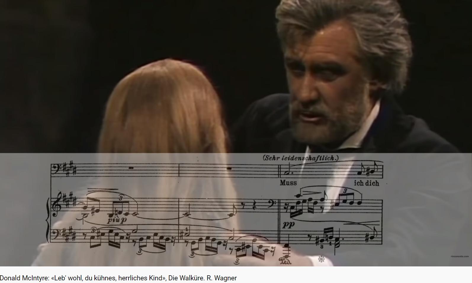 Wagner Die Walküre les adieux de Wotan (Boulez)