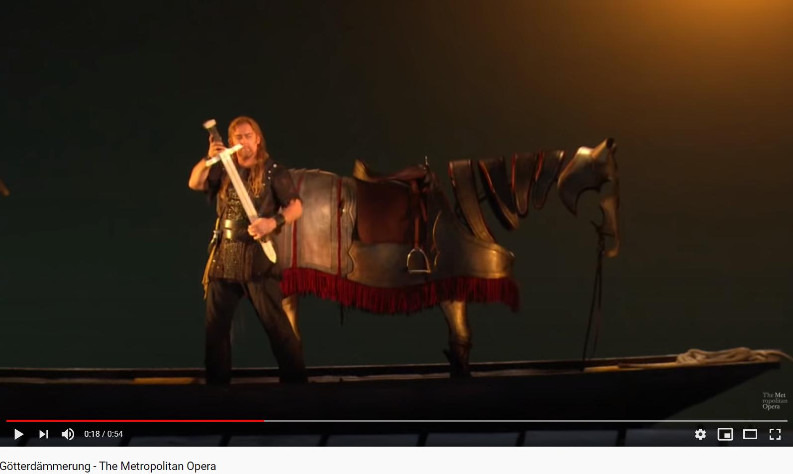 Wagner le crépuscule des dieux (Met 2011 - 2012)
