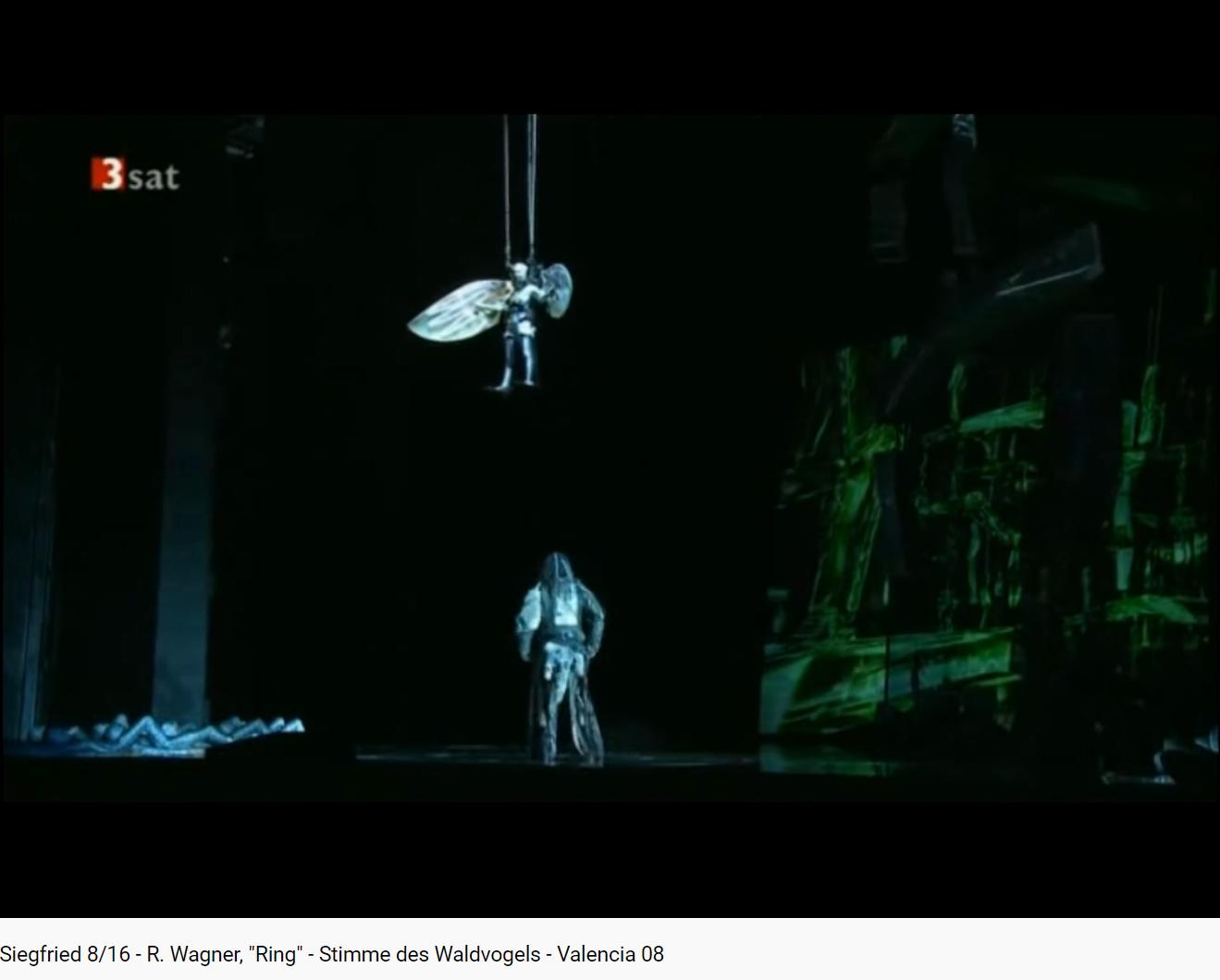 Wagner Siegfried l'oiseau de la forêt