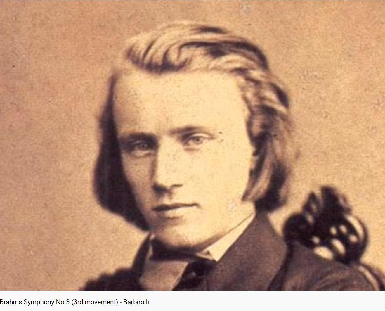 Brahms Symphonie no 3 3ème mouvement
