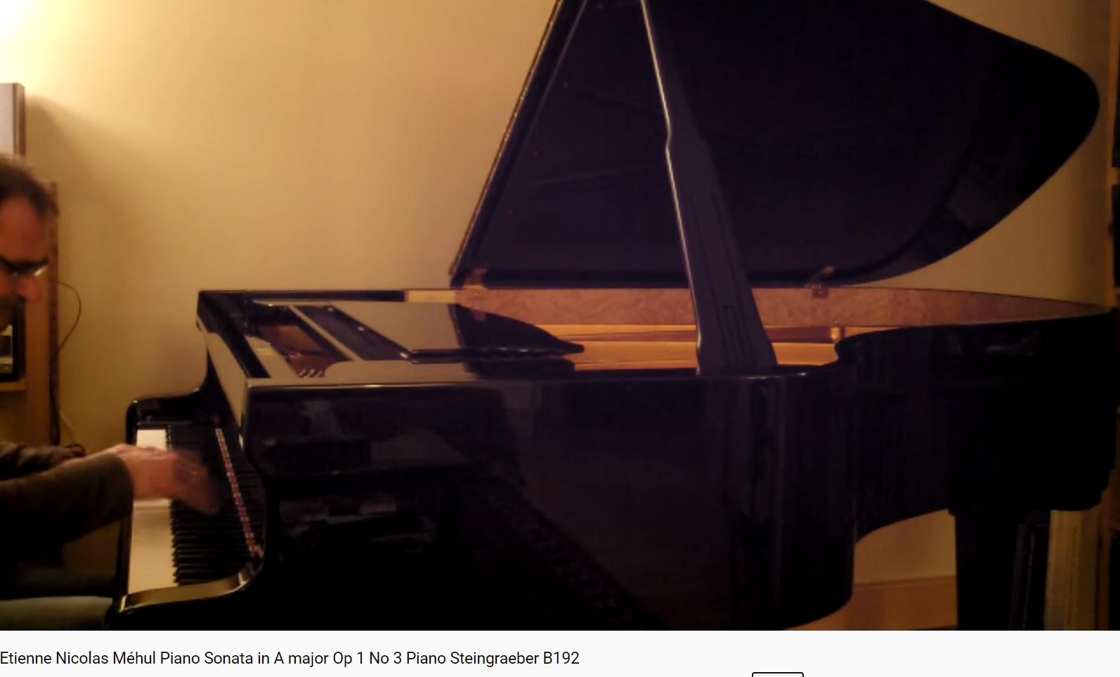 Méhul sonate opus 1 n 3