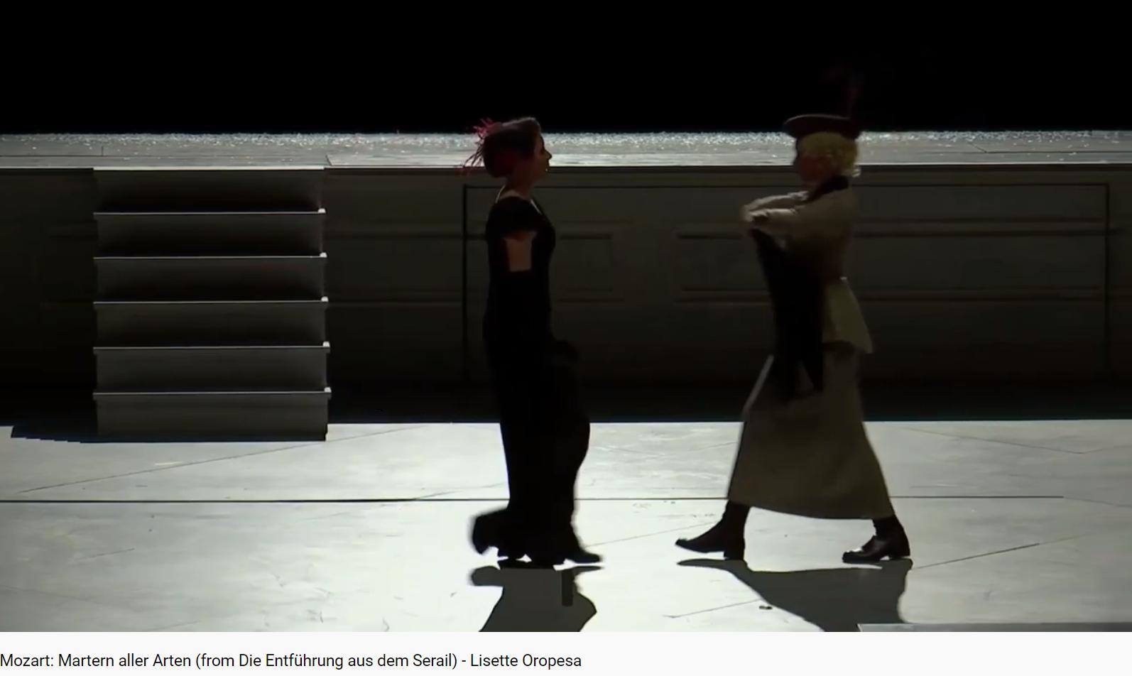 Mozart L'Enlèvement ai sérail Martern aller Arten (Vienne 2020)