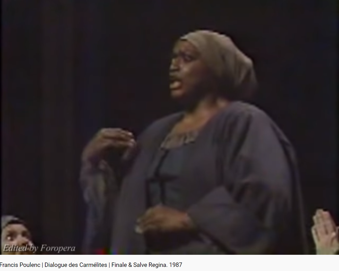 Poulenc Dialogue des Carmélites final et Salve Regina (MET 1987)