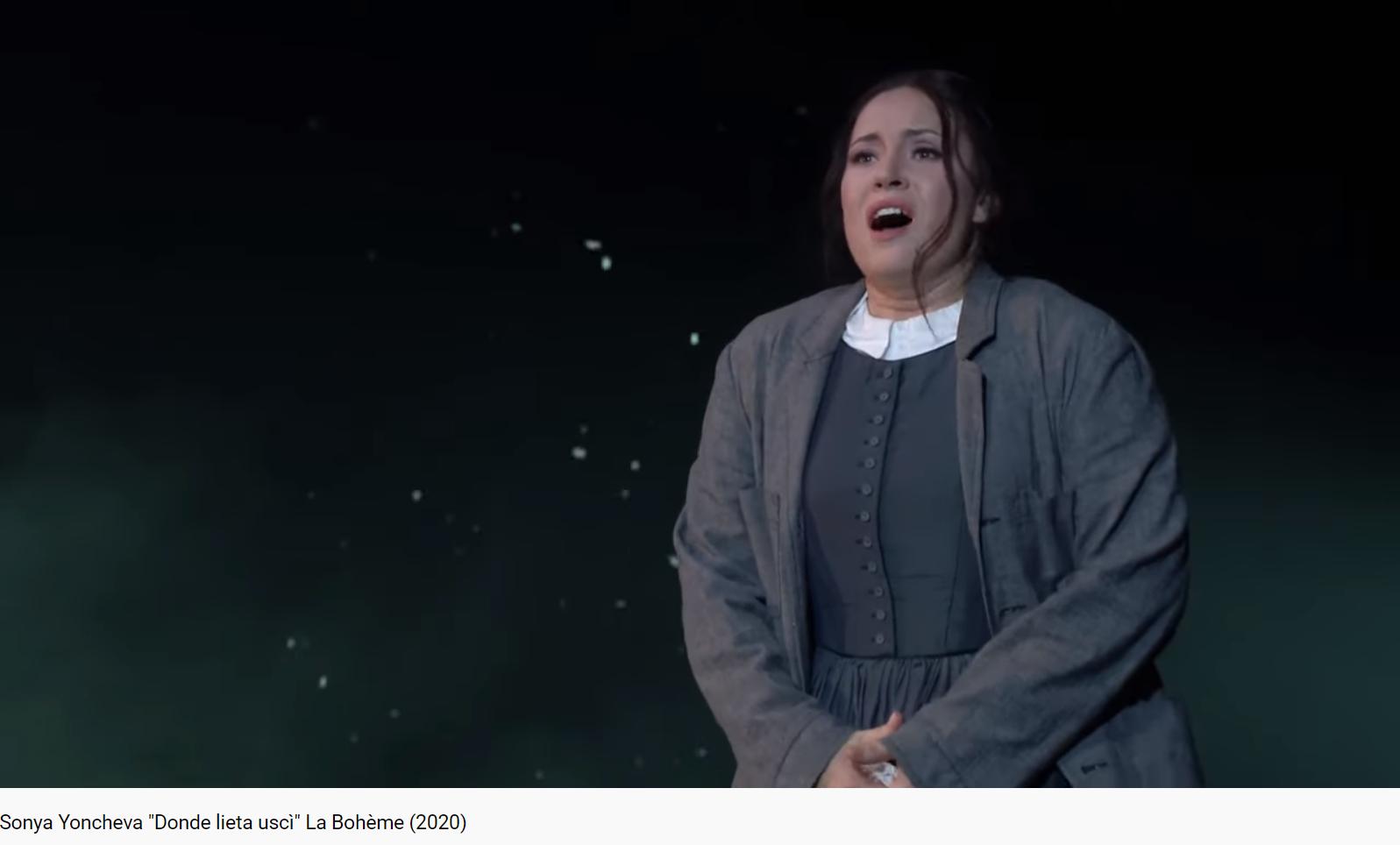 Puccini La Bohème Donde lieta usci