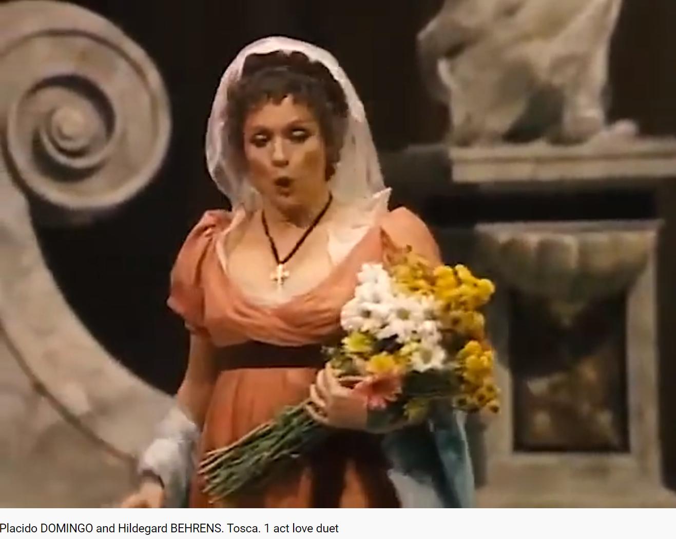 Puccini Tosca duo d'amour du 1er acte (MET 1985)