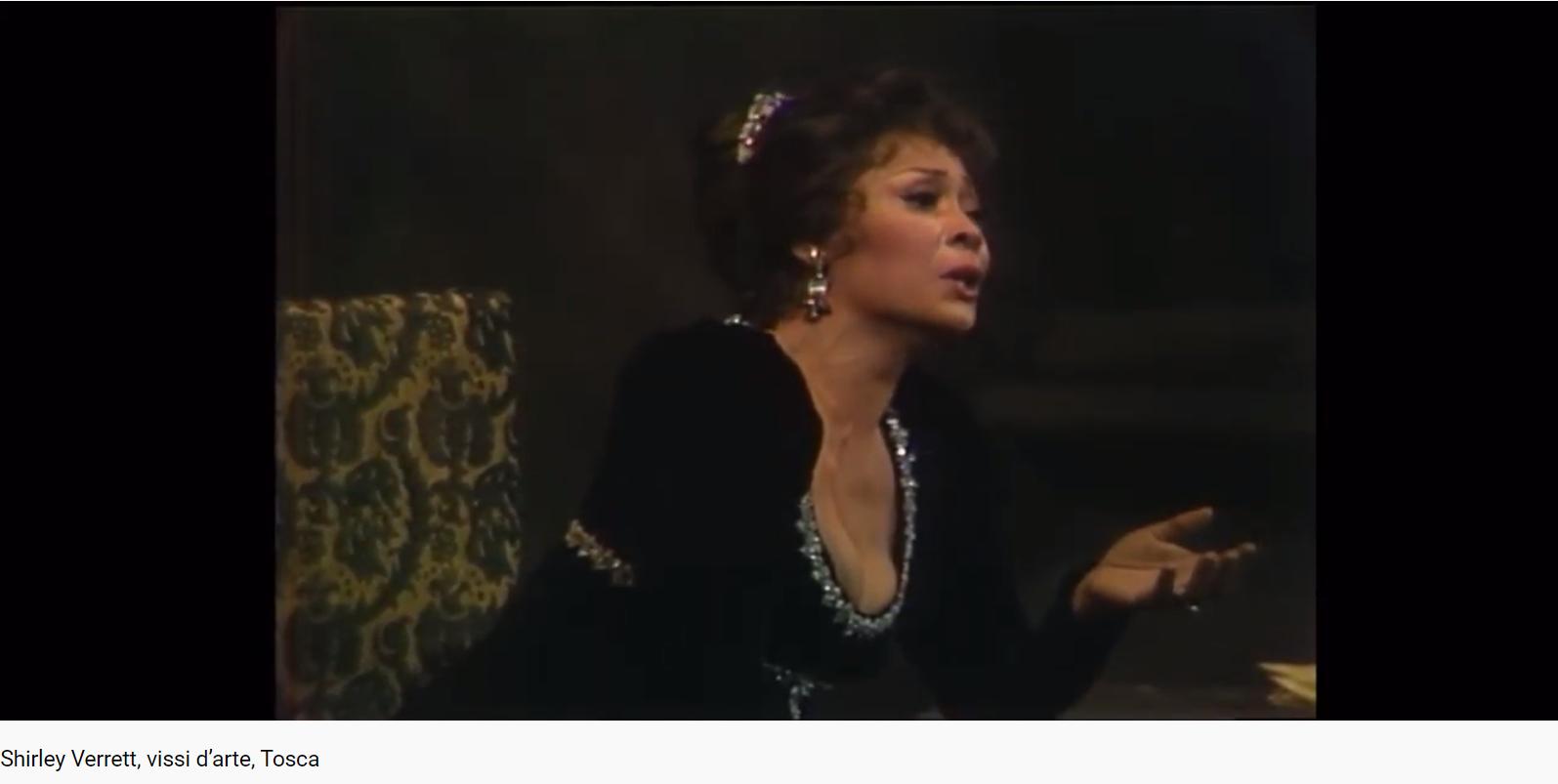 Puccini Tosca Vissi d'arte (MET 1988)