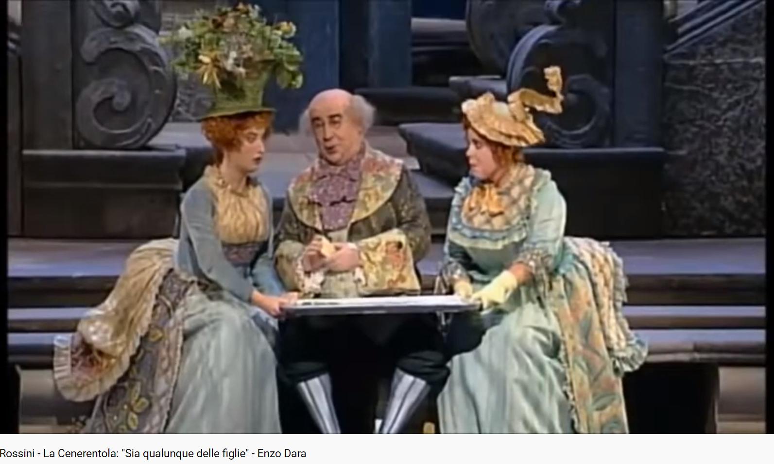 Rossini La Cenerentola Sia qualunque delle figlie