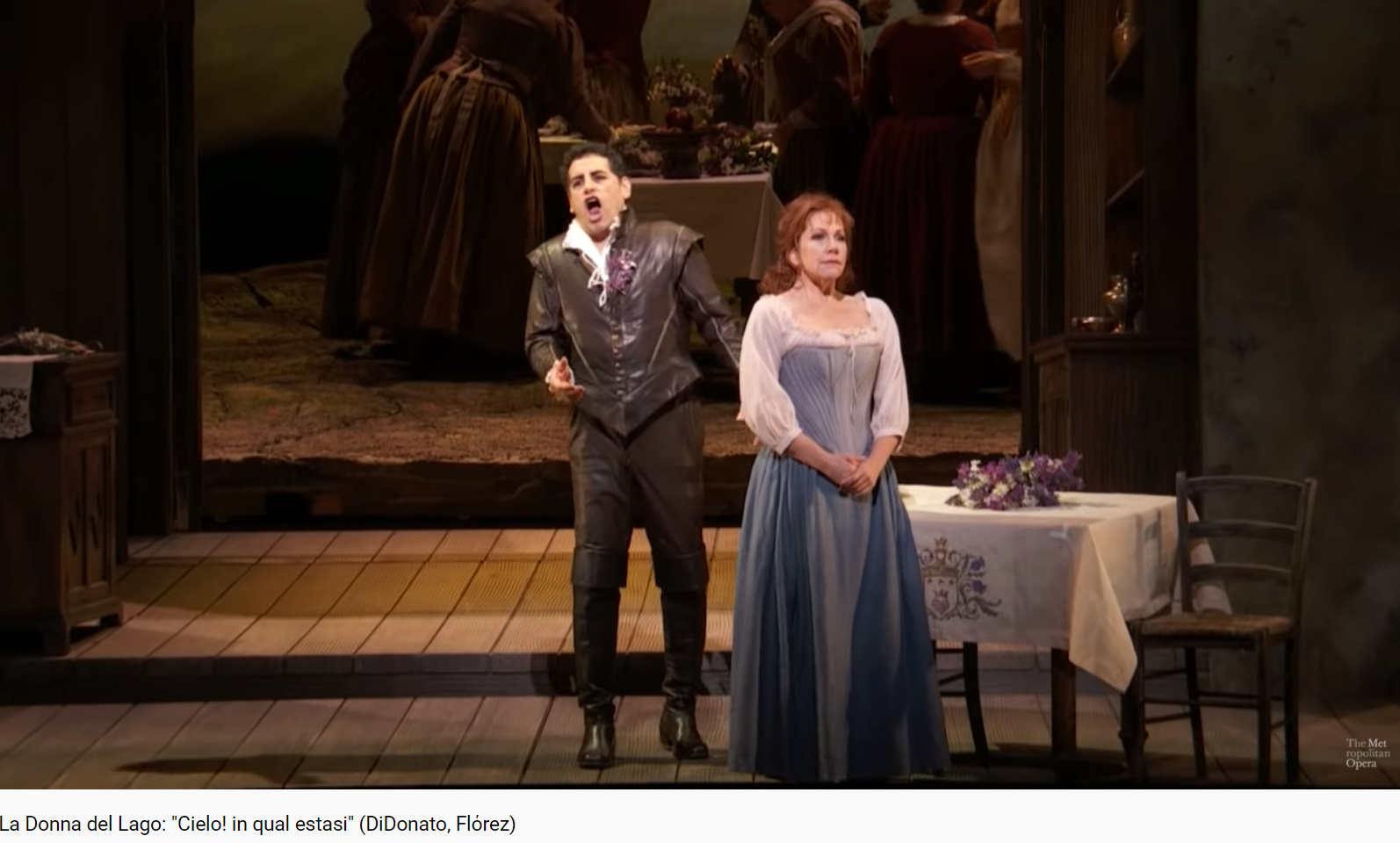 Rossini la Donna del Lago Cielo in quasi estasi (MET 2015)