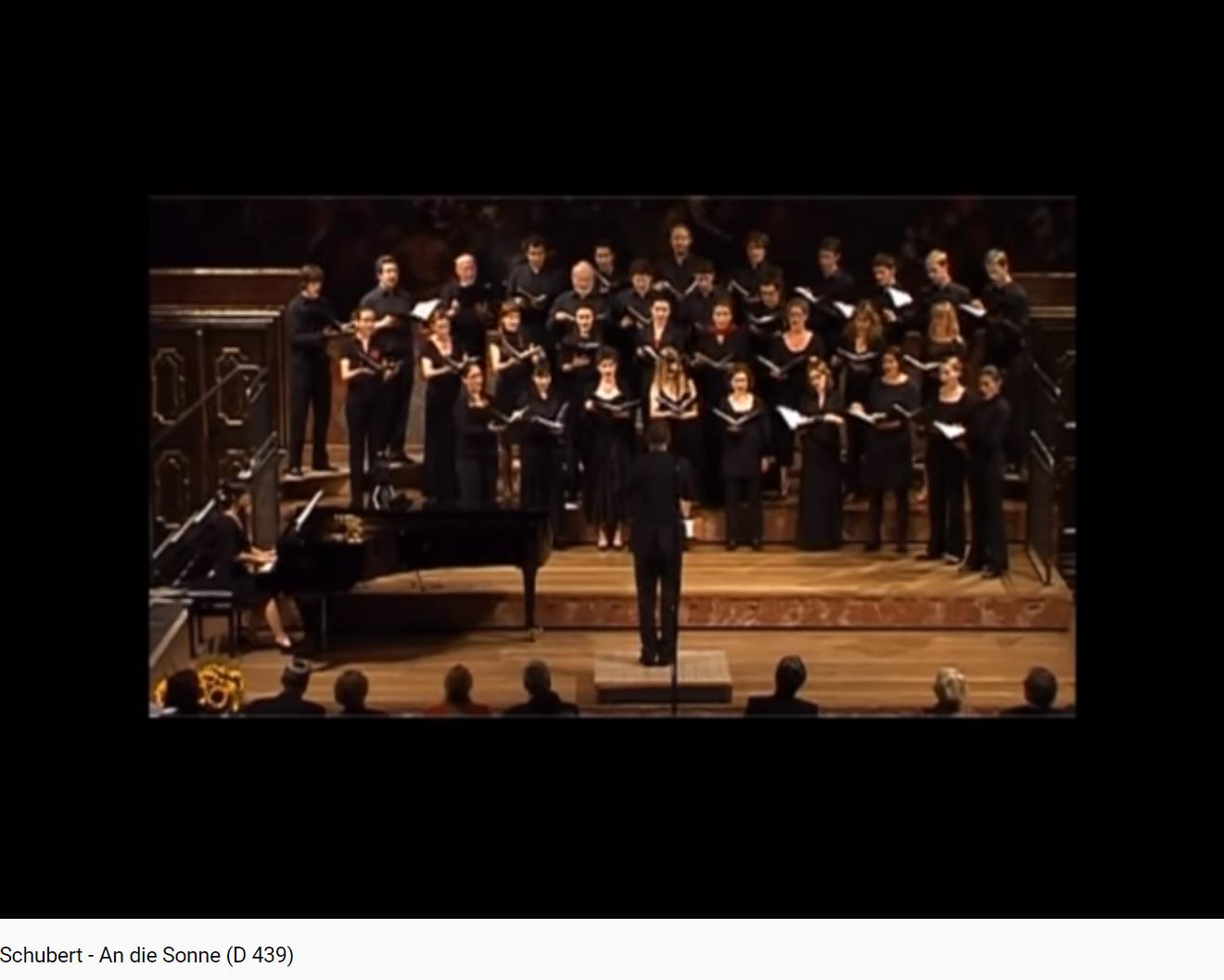 Schubert An die Sonne D. 439