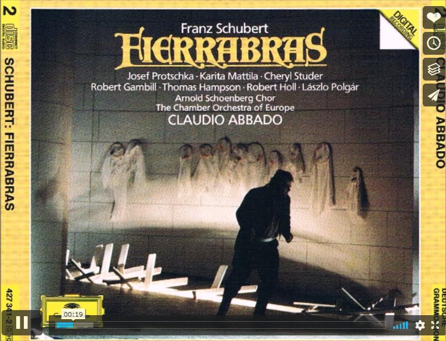 Schubert Fierrabras Der runde Silberfaden