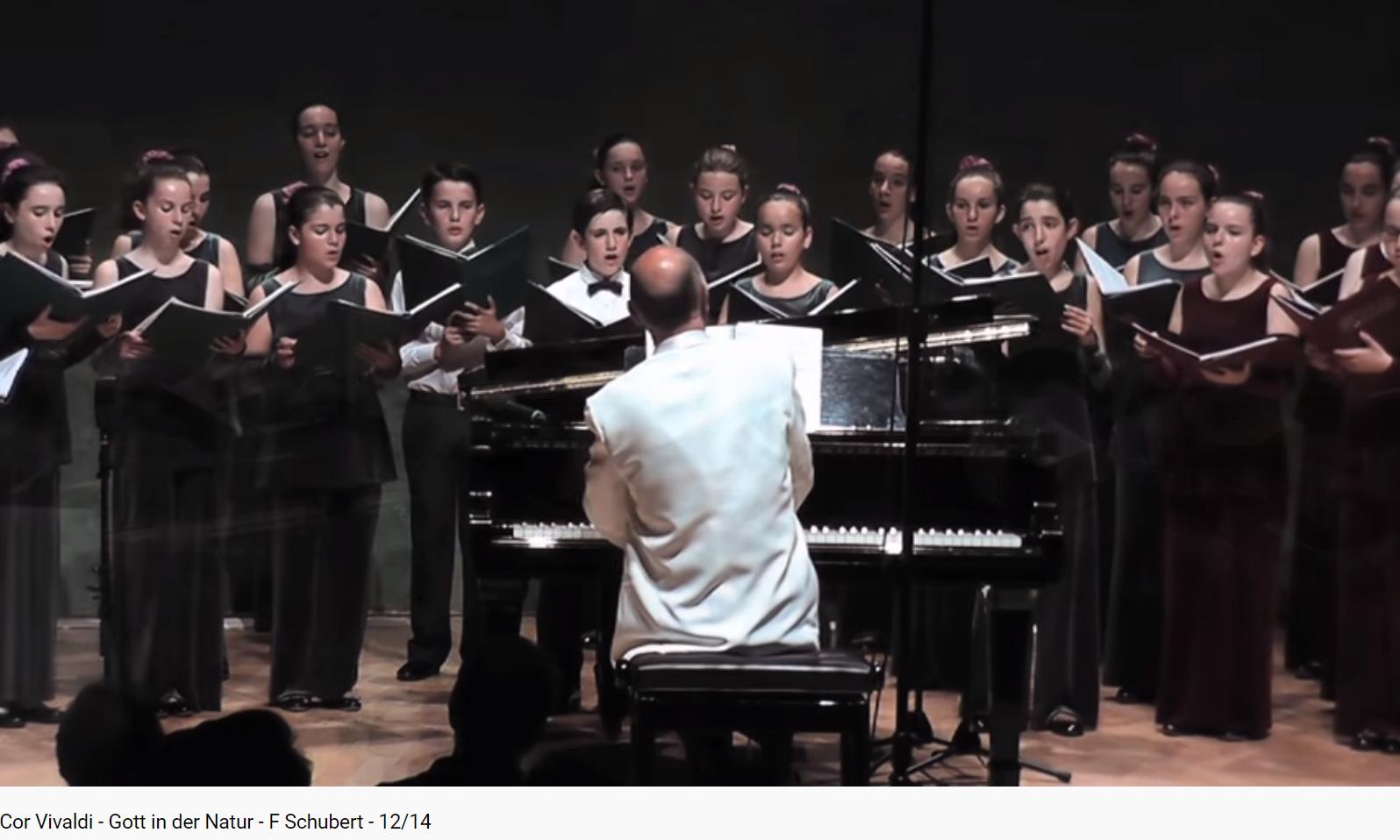 Schubert Gott in der Natur