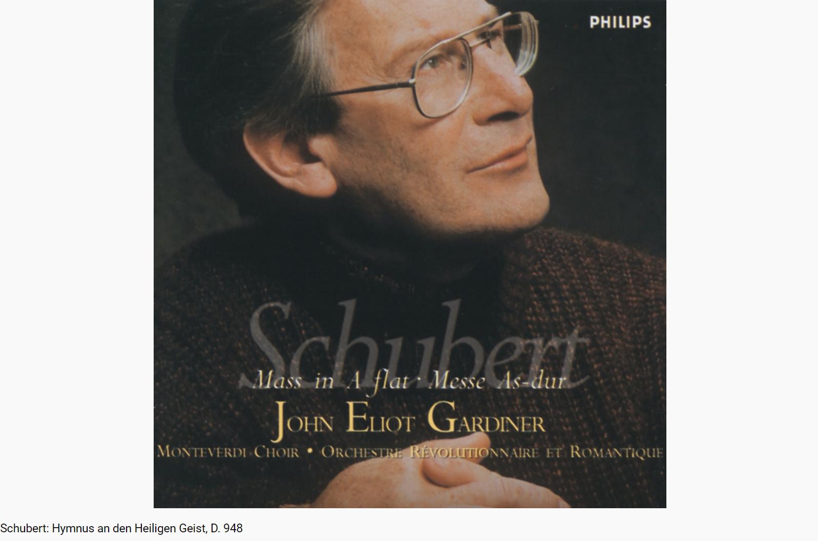 Schubert Hymnus an den Heiligen Geist