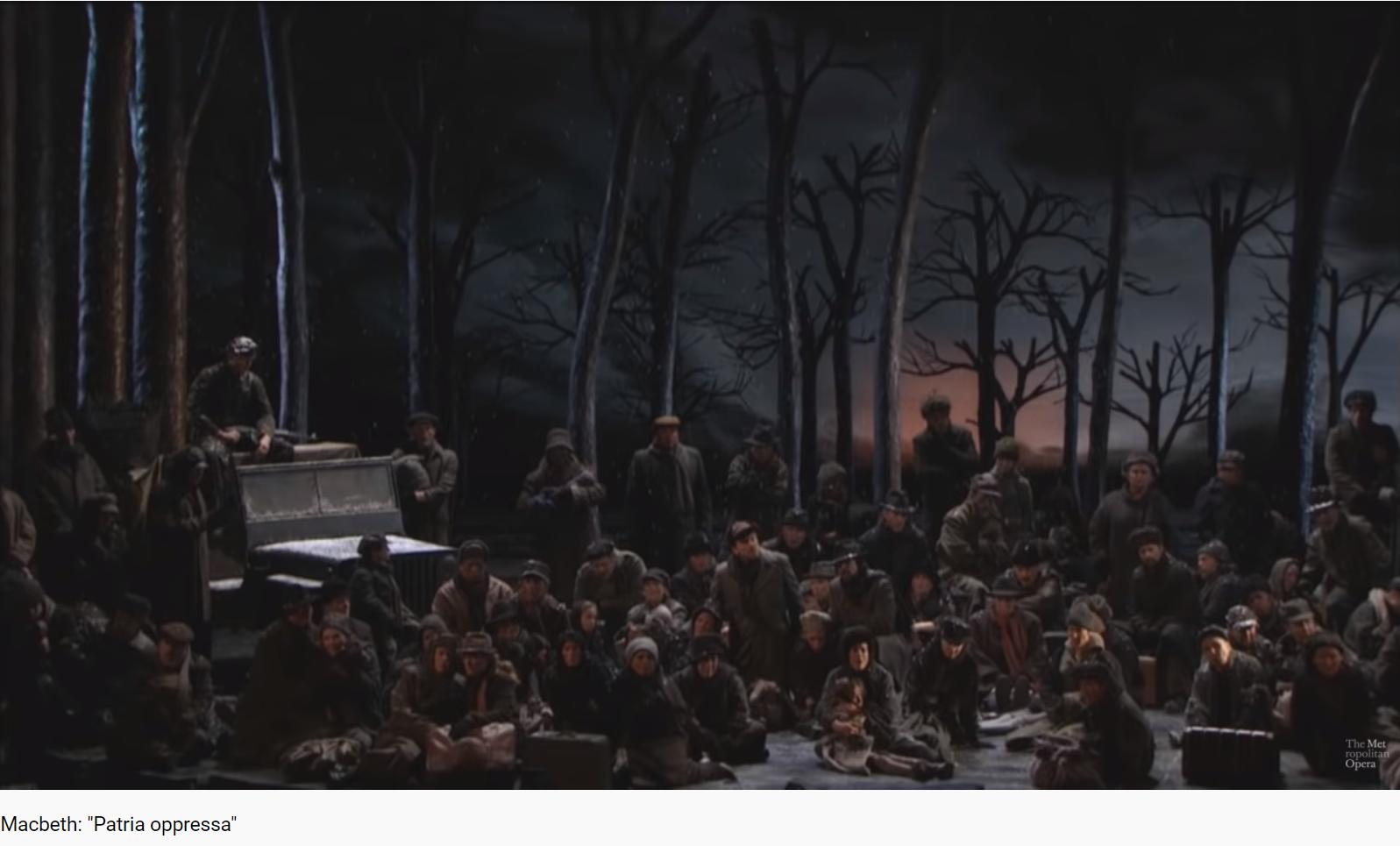 Verdi Macbeth Patria oppressa (MET 2008)