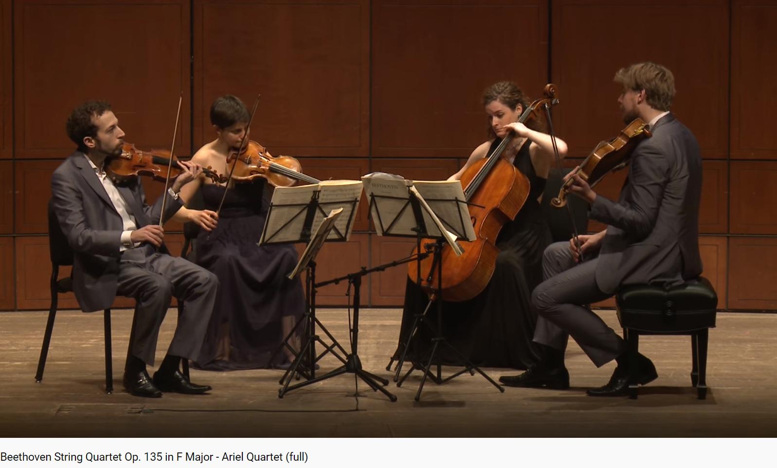 Beethoven 16e quatuor opus 135