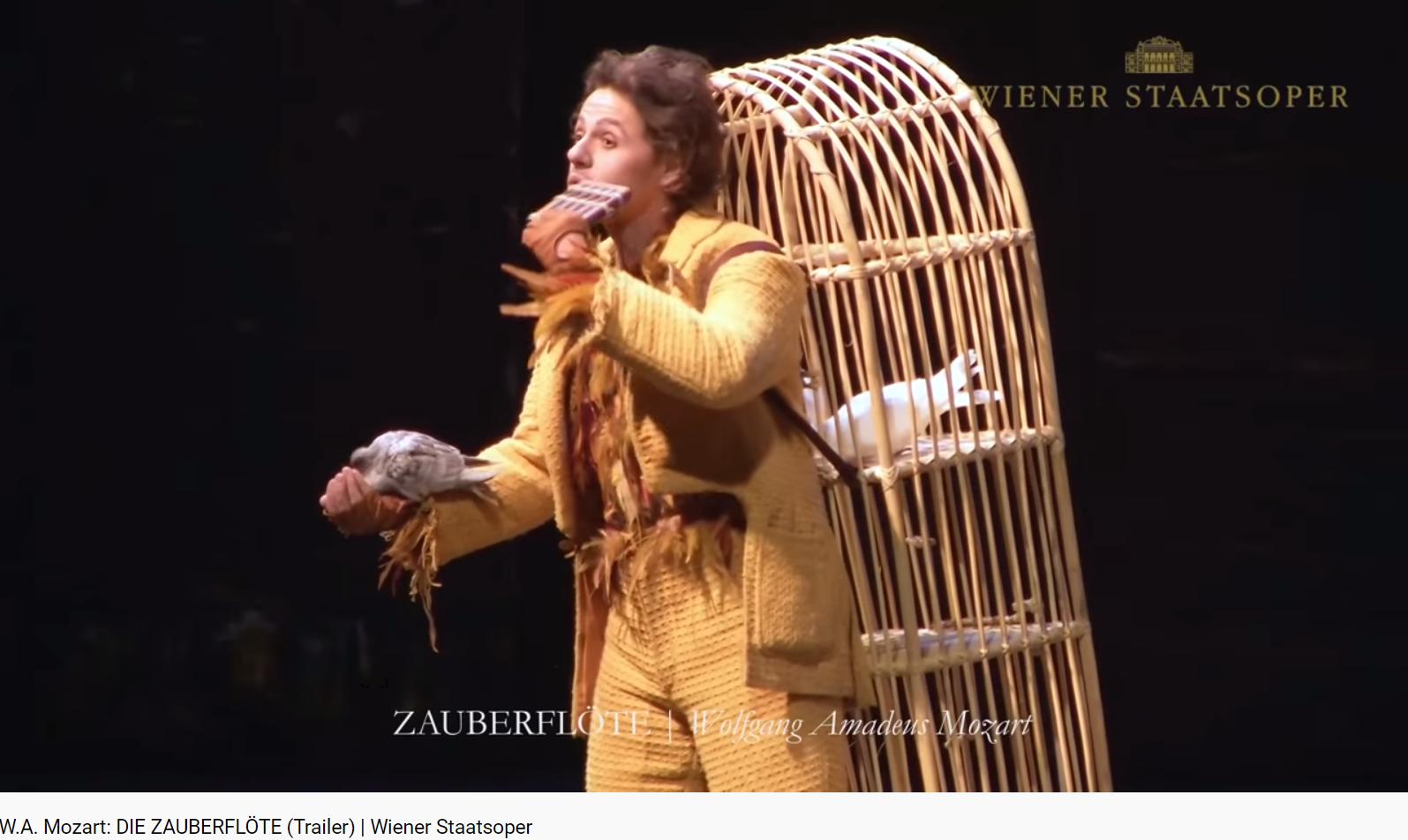 Mozart Zauberflöte bande annonce (Wien 2015)