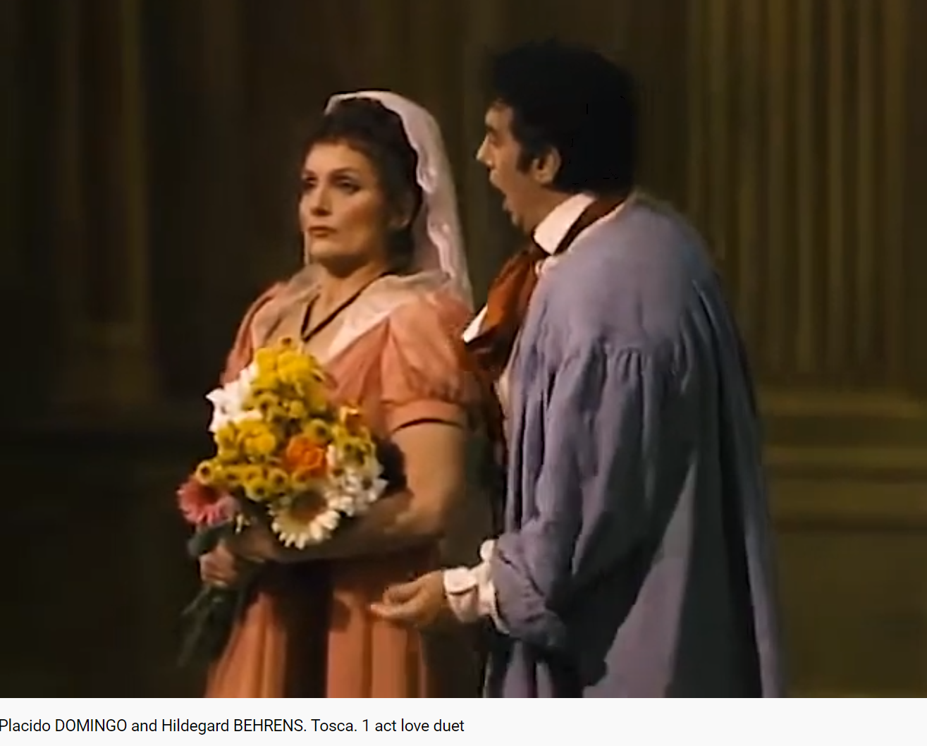 Puccini Tosca (MET 1985)