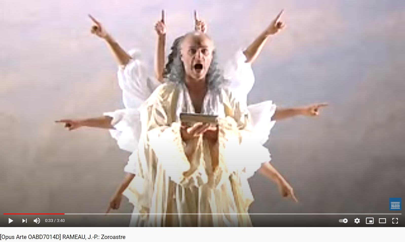 Rameau Zoroastre acte II