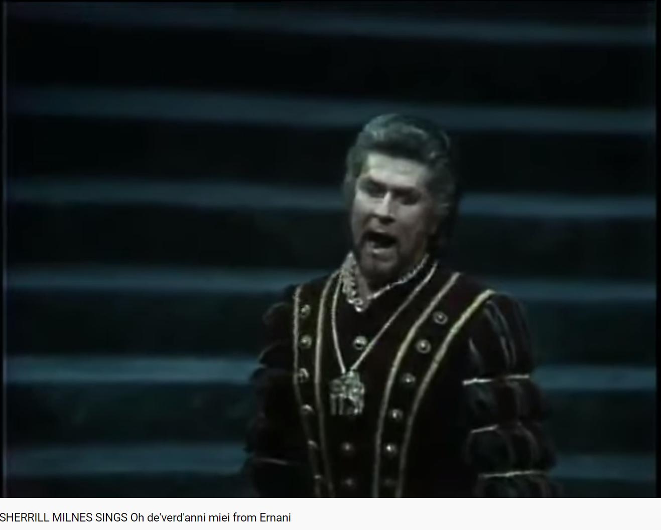 Verdi Ernani Oh de'verd'anni miei (MET 1983)