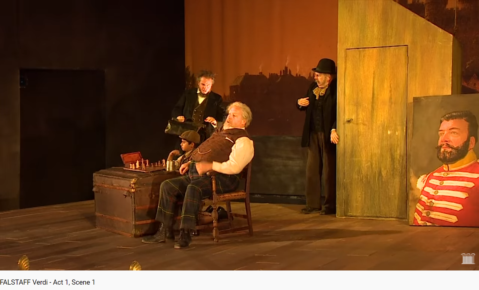 Verdi Falstaff début Act I