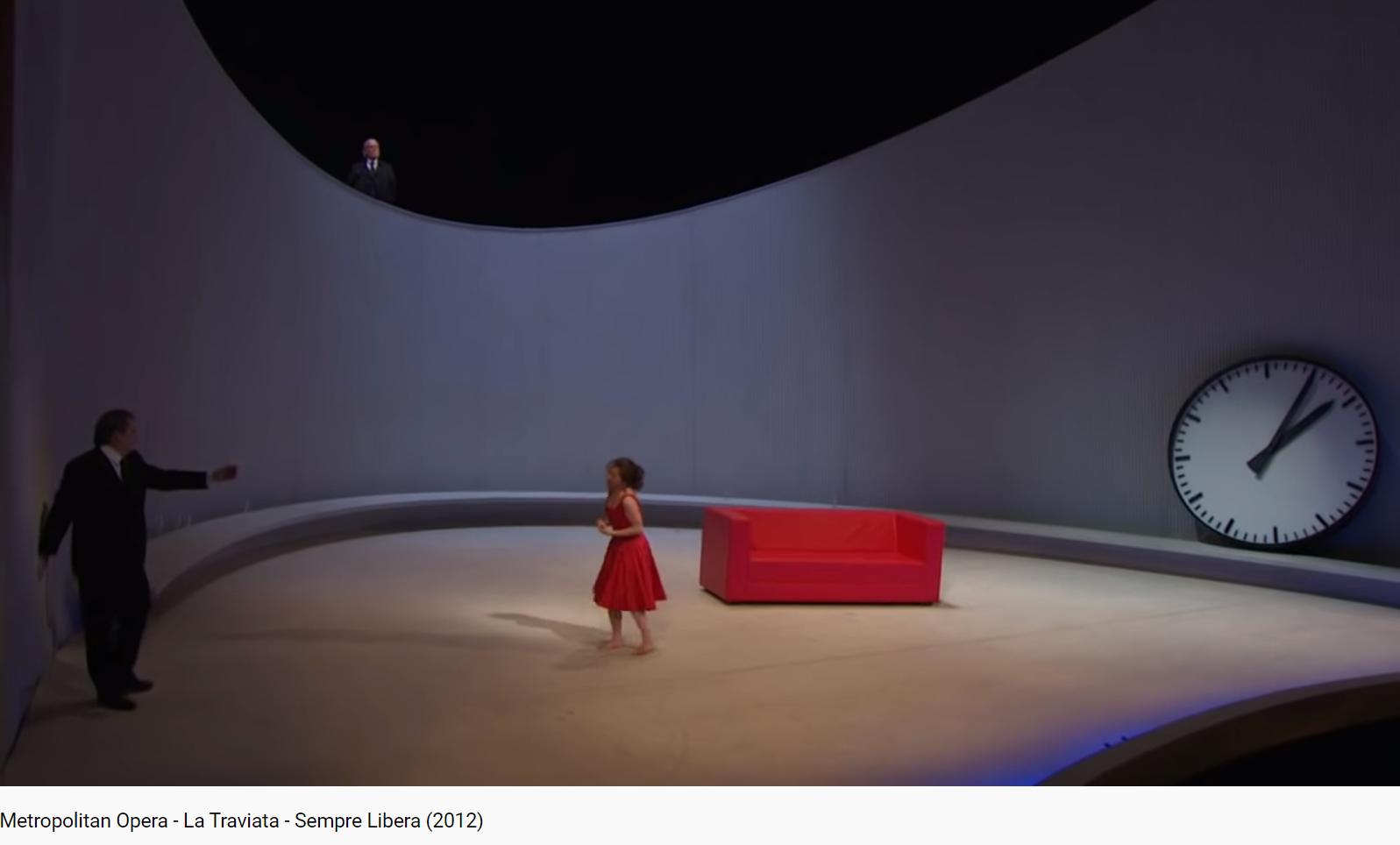 Verdi La Traviata Sempre libera (MET 2012)