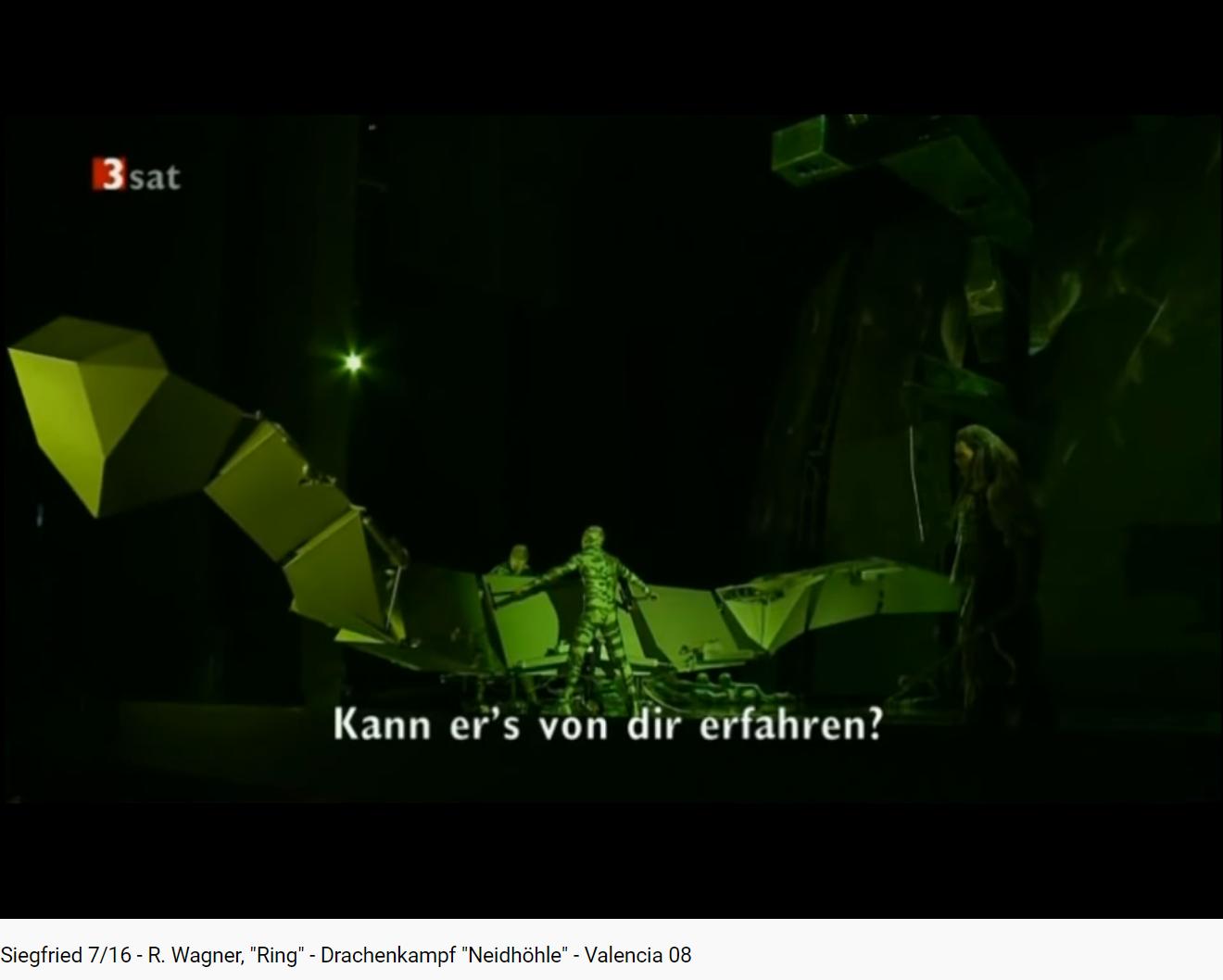 Wagner Siegfried Combat contre le dragon