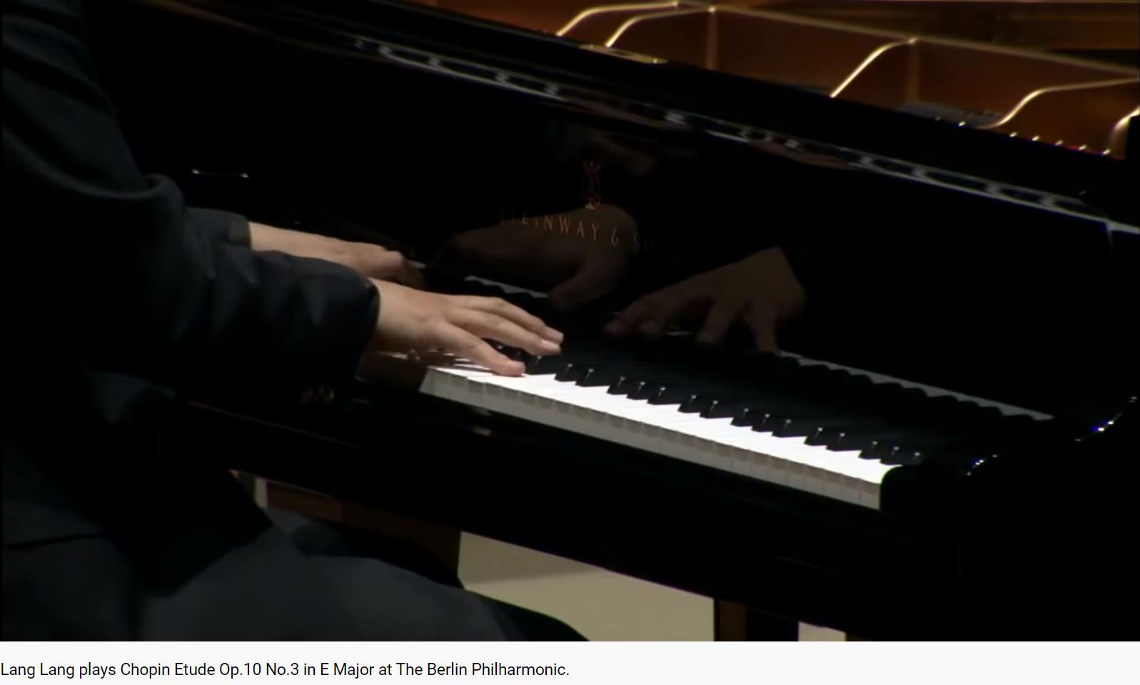 Chopin études opus 10 n 3