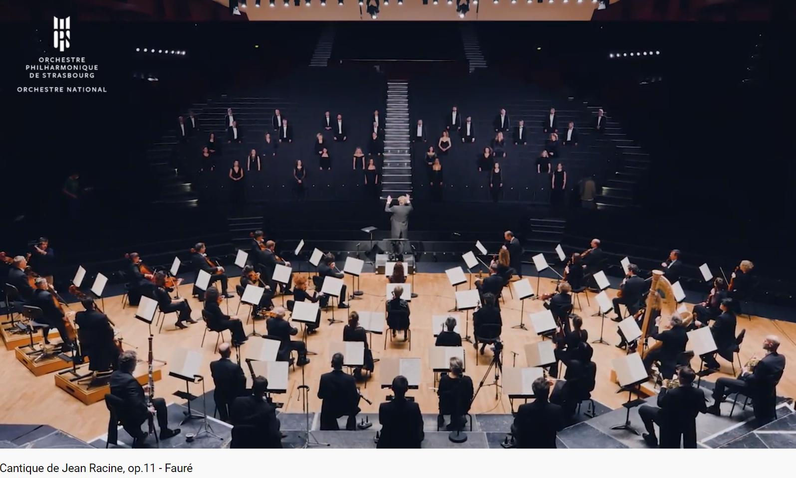 Fauré Cantique de Jean Racine opus 11