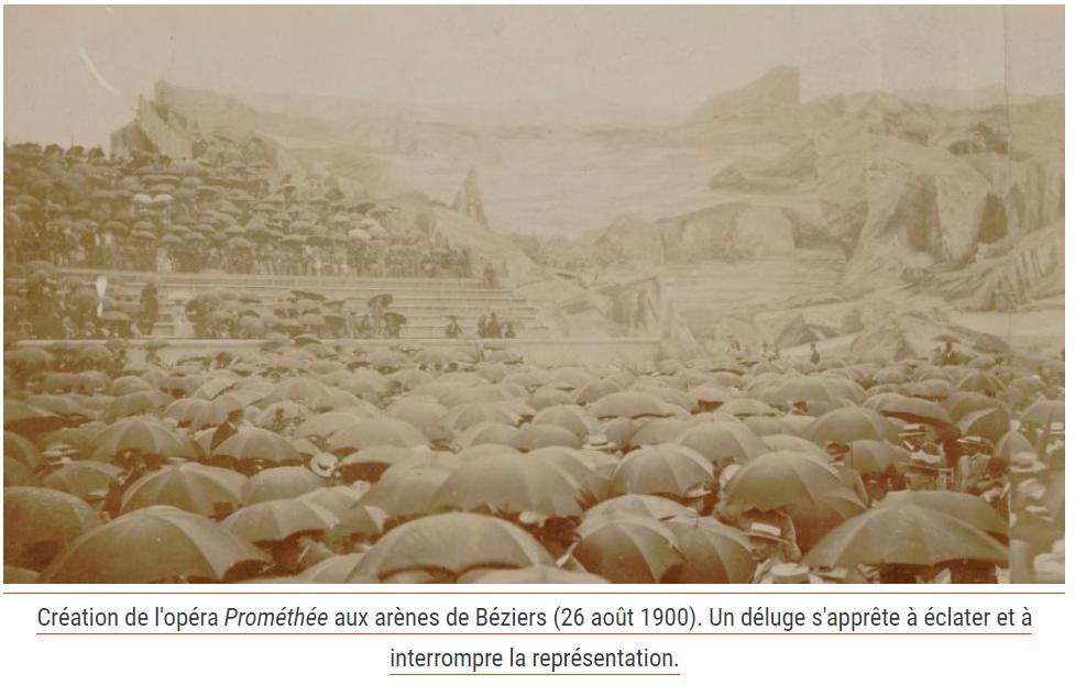 Fauré Prométhée création (source Gallica)