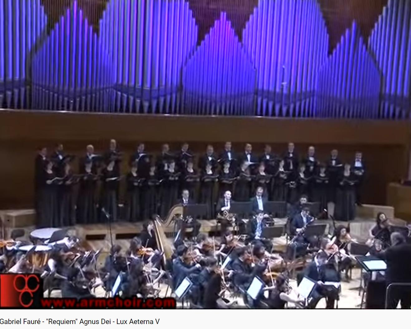 Fauré Requiem Agnus Dei