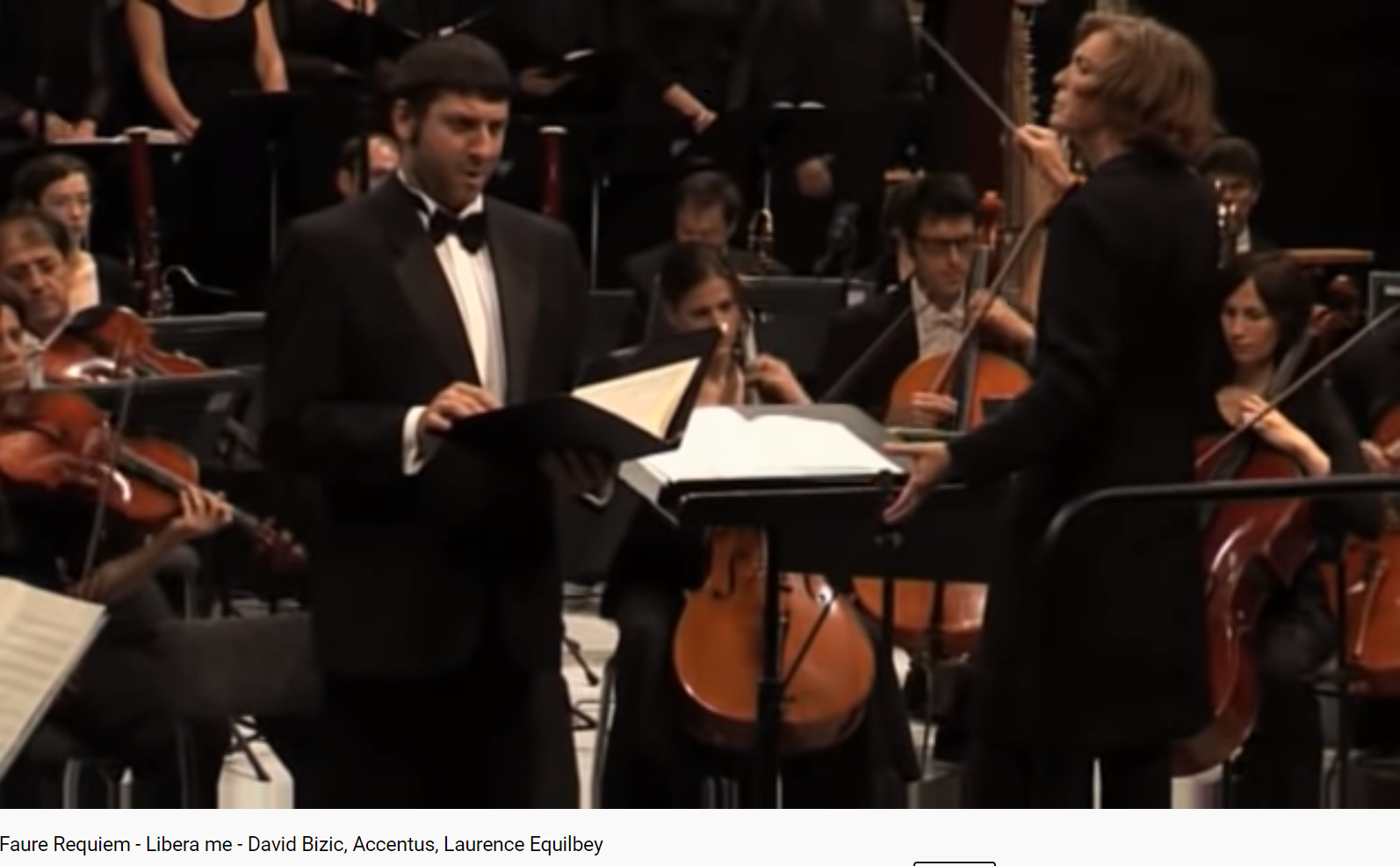 Fauré Requiem Libera me