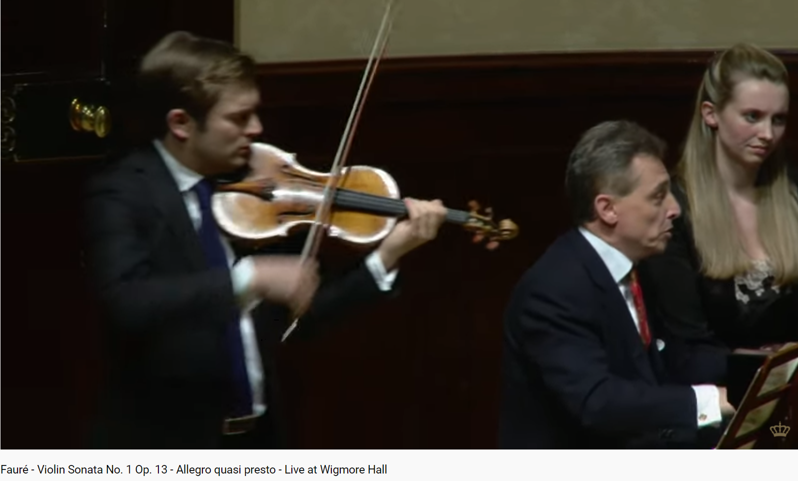 Fauré sonate pour piano et violon opus 13