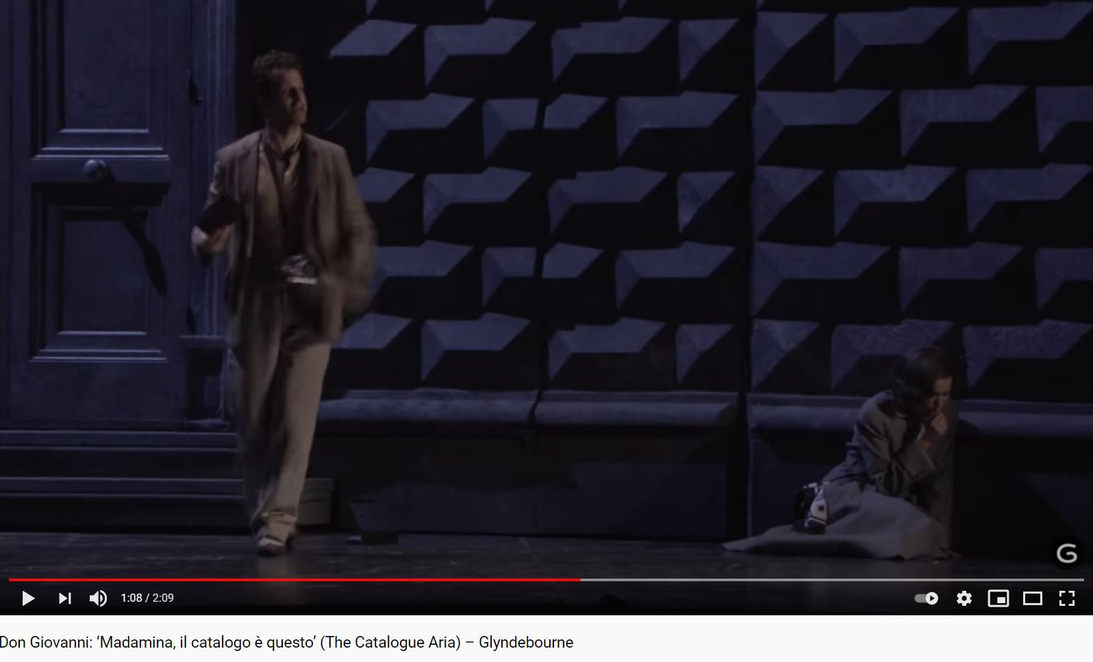Mozart Don Giovanni Madamina, il catalogo