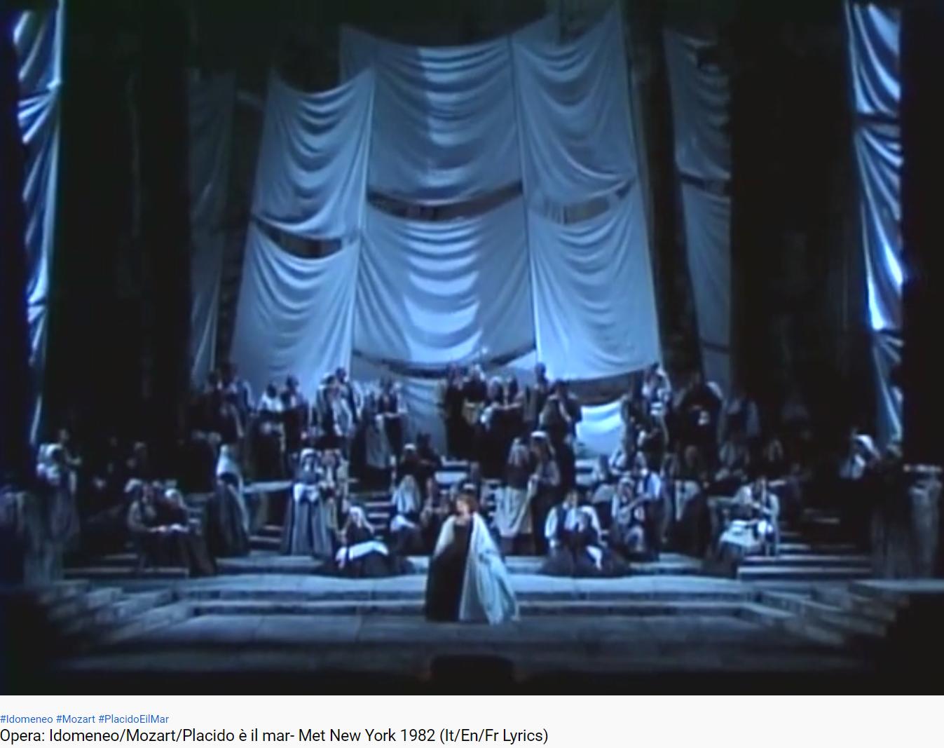 Mozart Idomeneo (MET 1982)