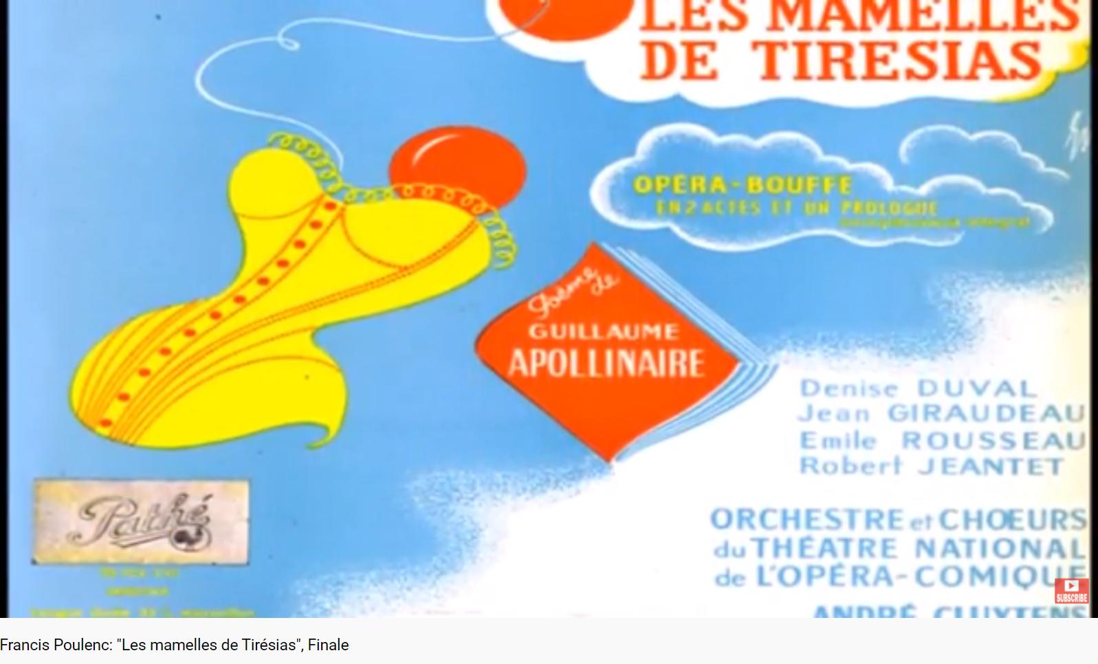 Poulenc Les Mamelles de Tirésias Final