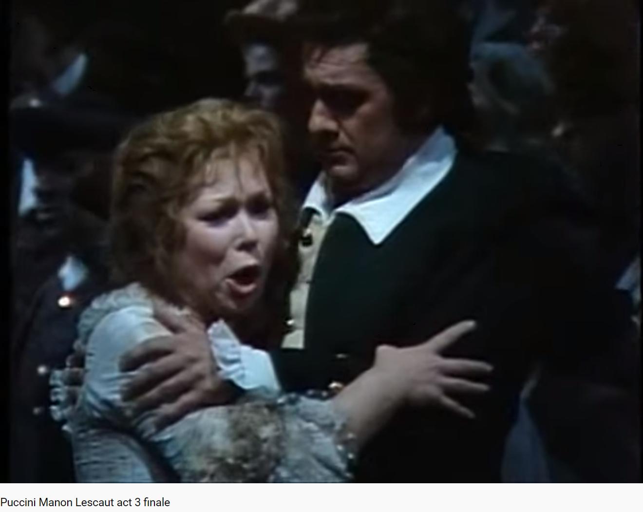 Puccini Manon Lescaut final (MET 1980)