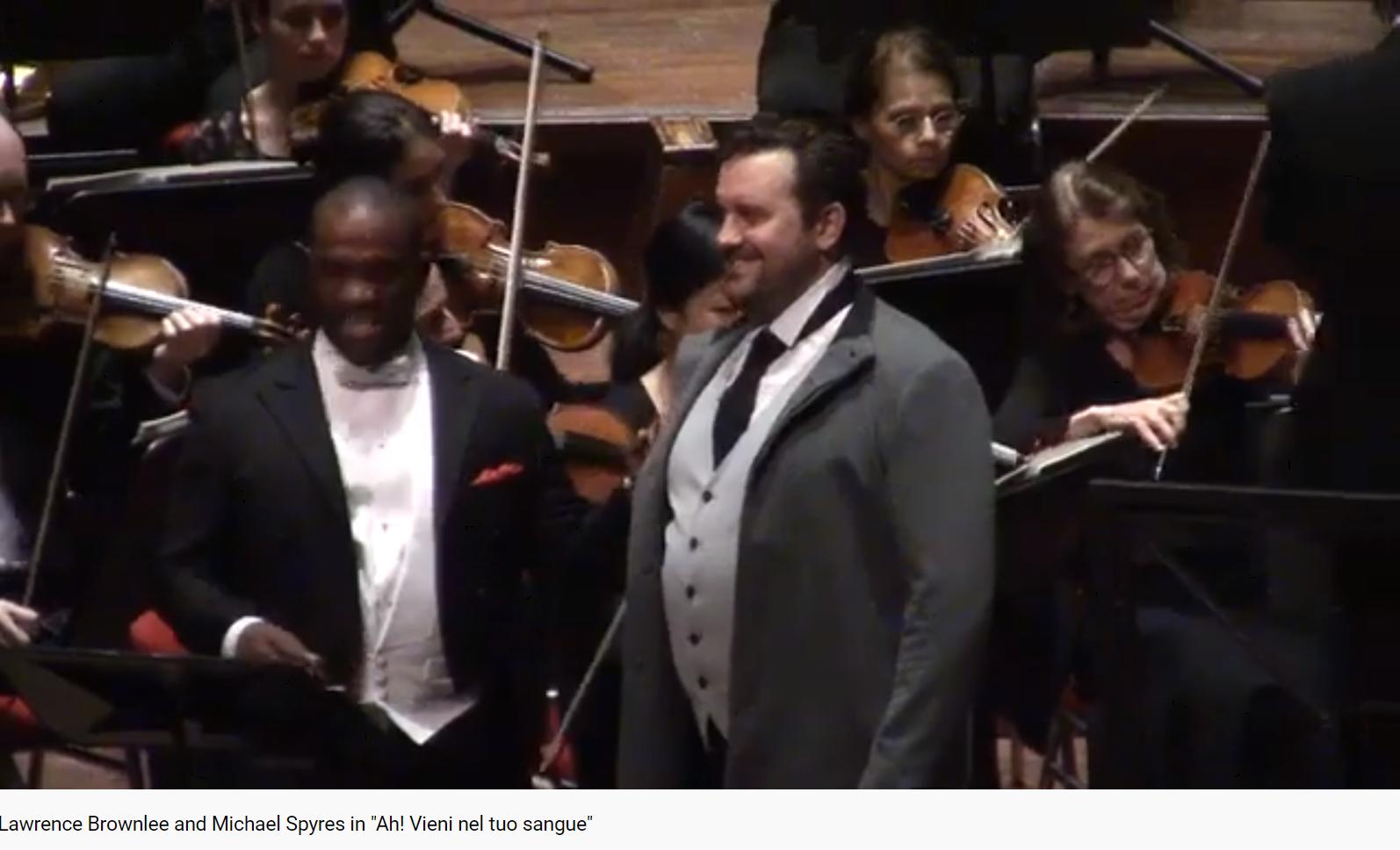 Rossini Otello Ah vieni neltuo sangue