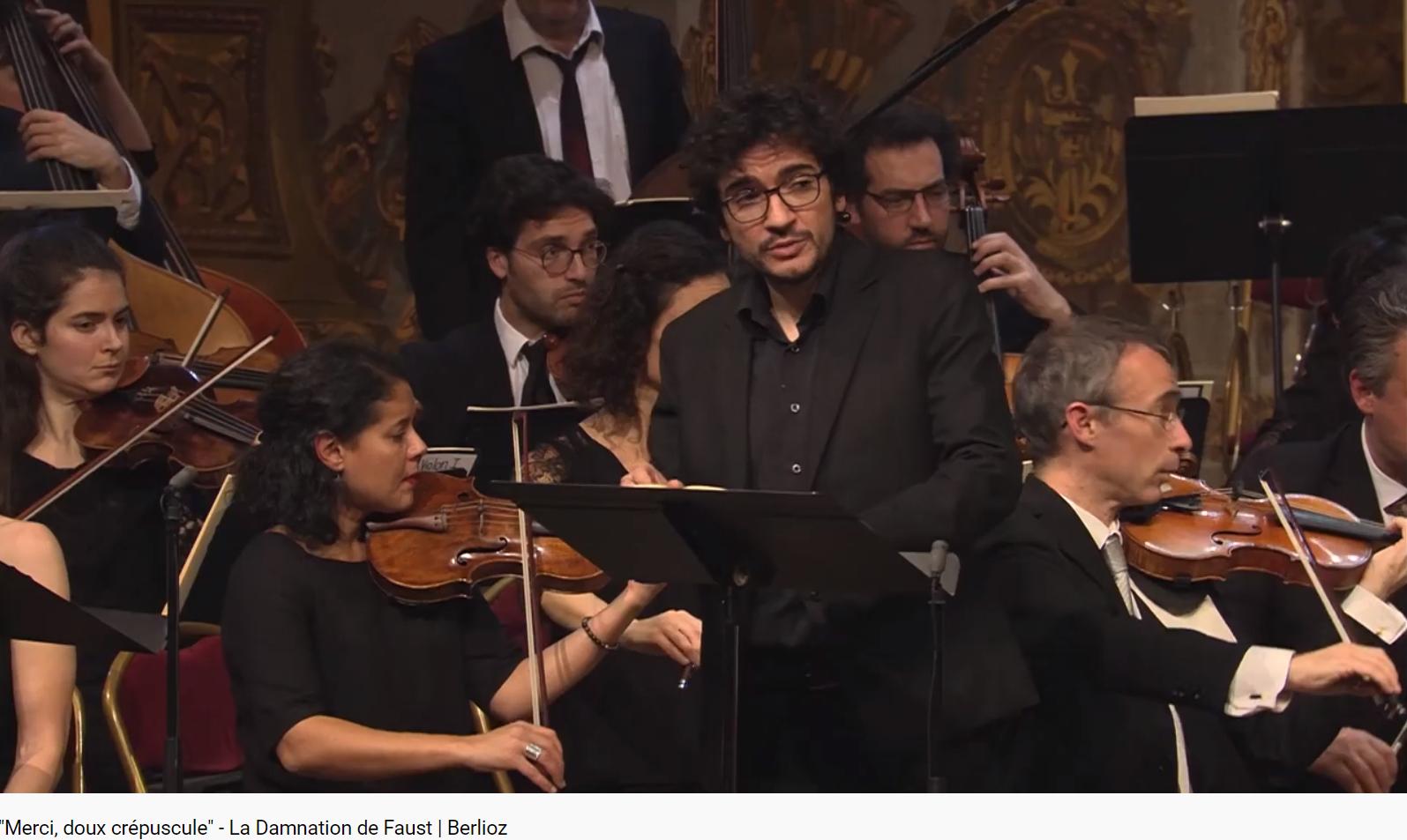 Berlioz la Damnation de Faust Merci, doux crépuscule