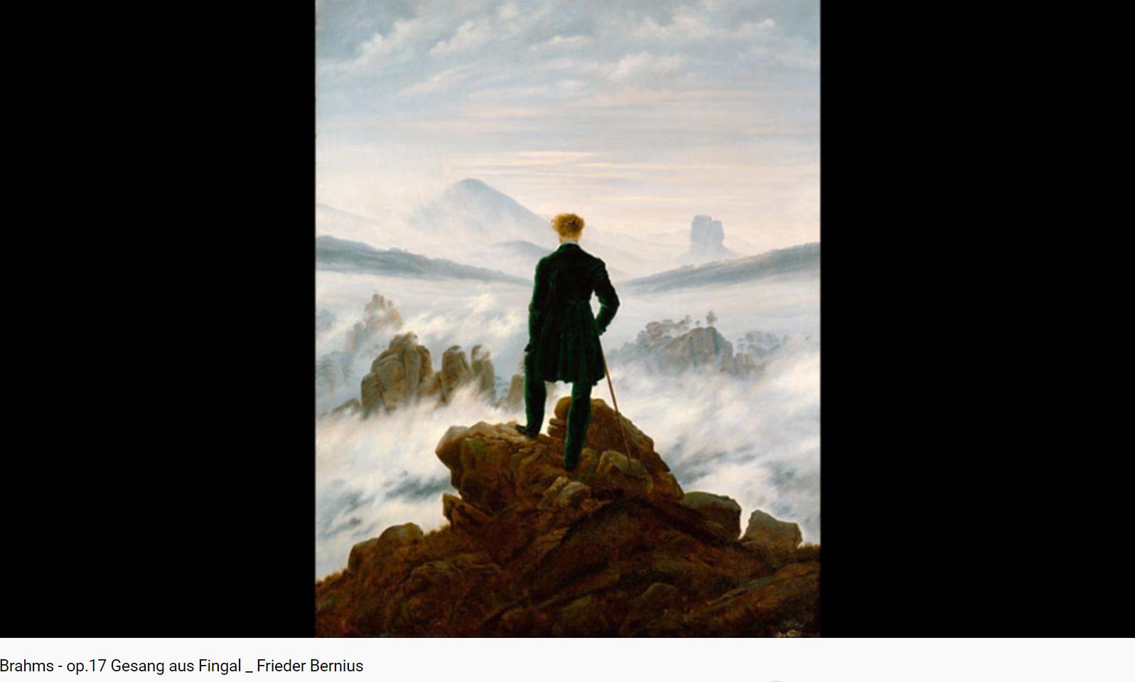 Brahms opus 17 Gesang aus Fingal