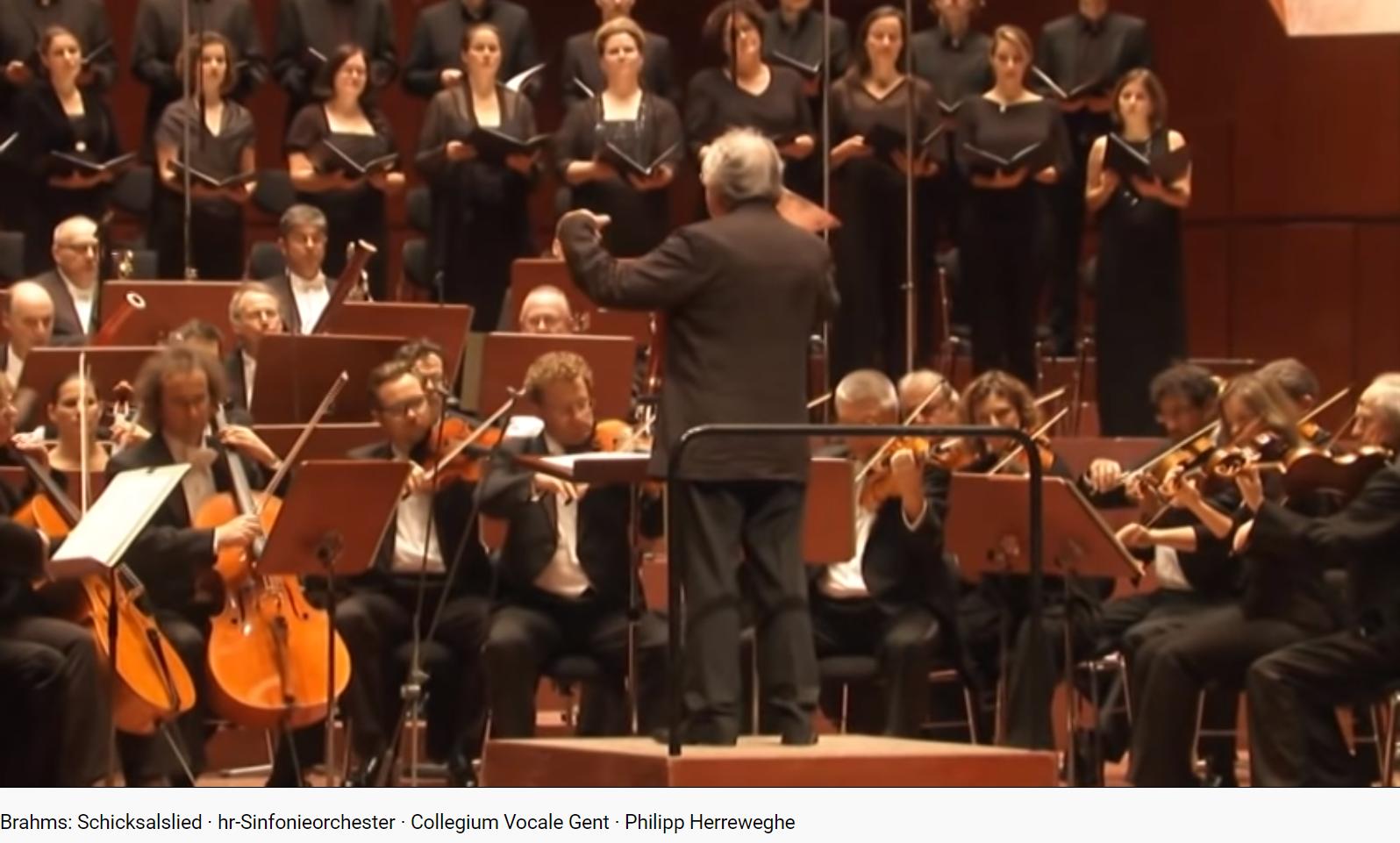 Brahms Schicksallied