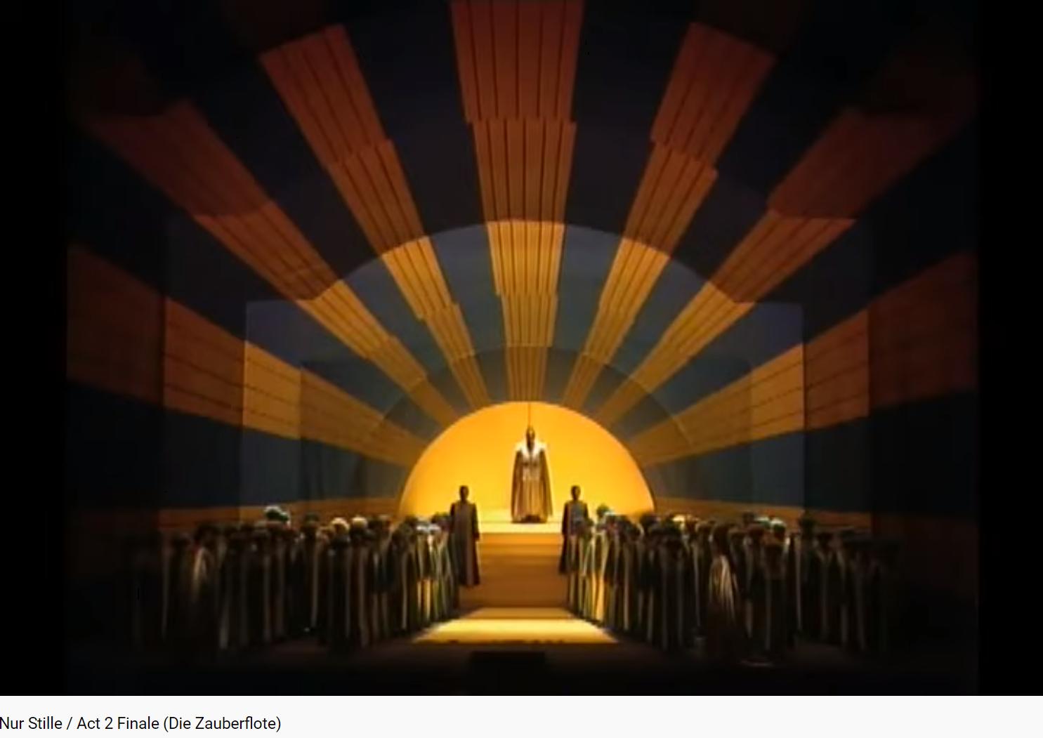 Mozart Zuberflöte la Flûte enchantée final