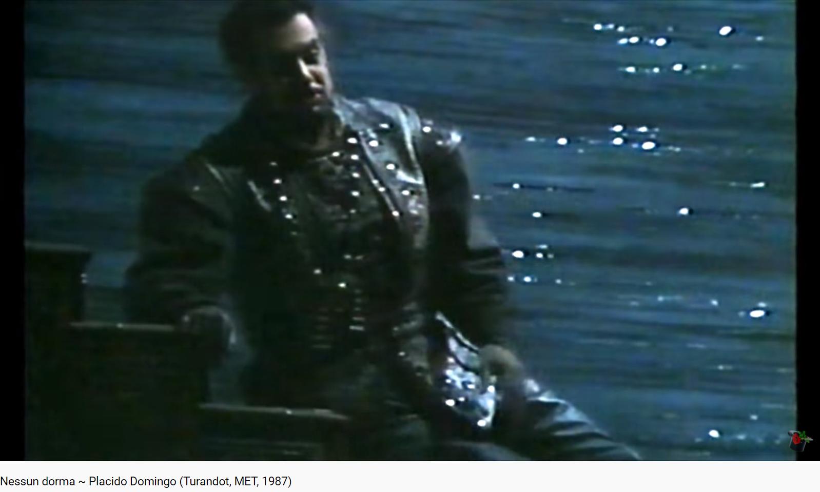 Puccini Turandot Nessun dorma (MET 1987)
