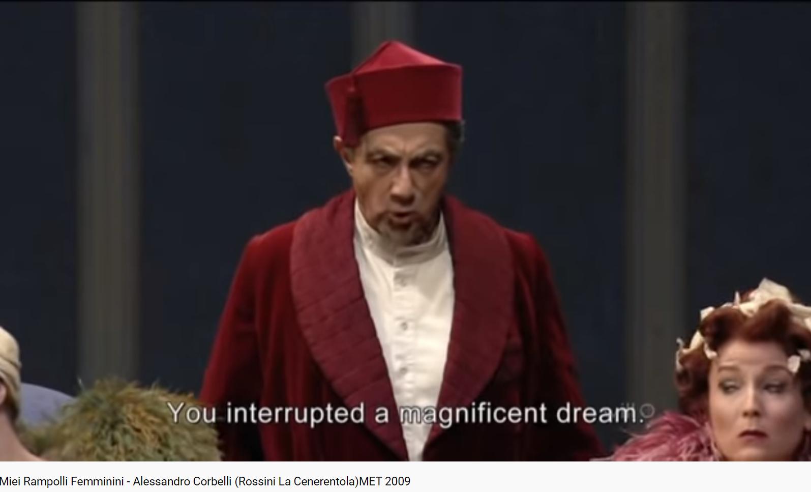Rossini la Cenerentola miei Rampolli femminini