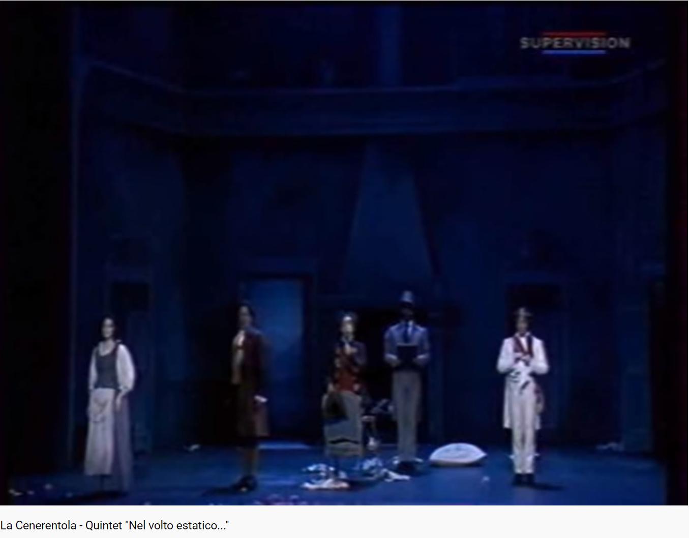 Rossini la Cenerentola Nel volto estatico