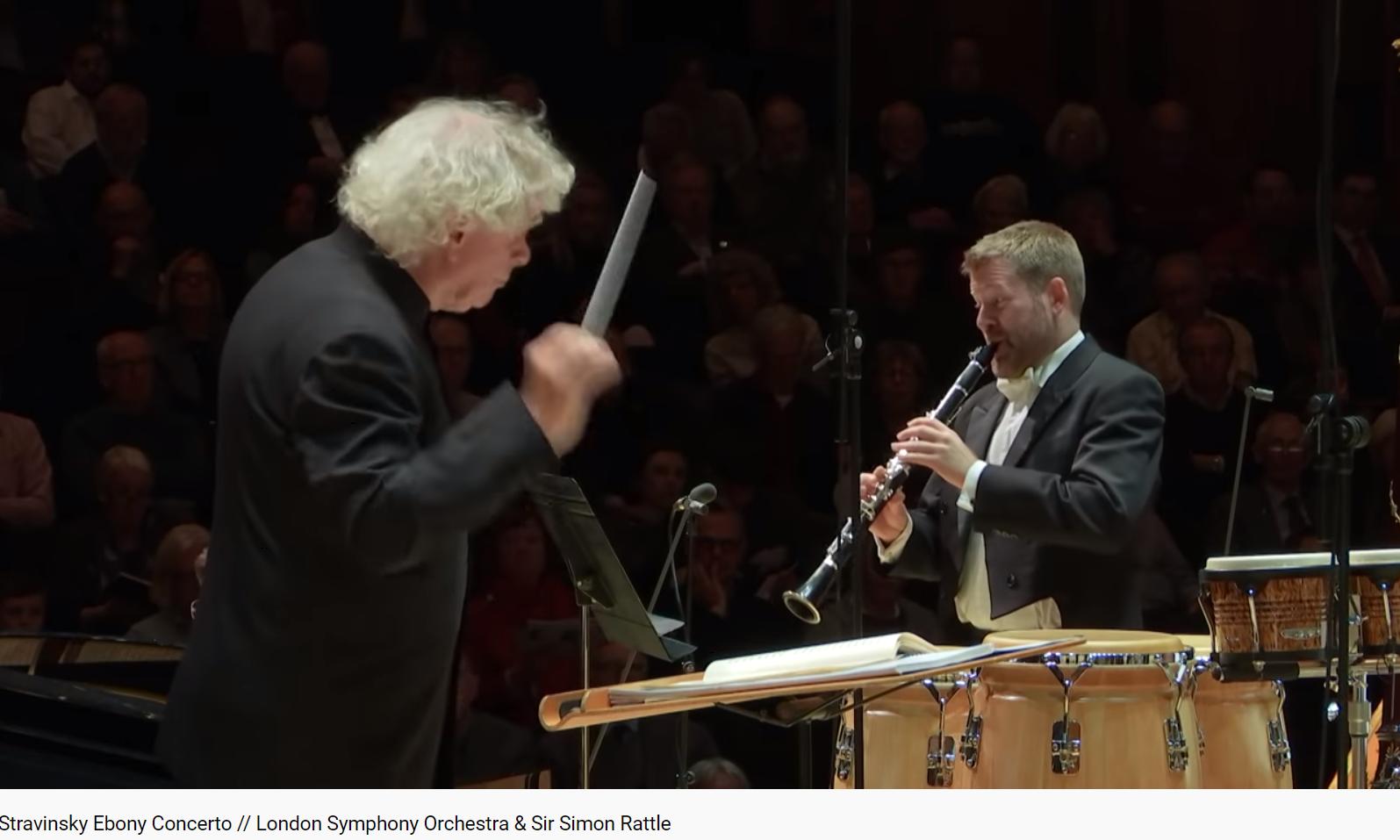 Stravinsky Ebony concerto