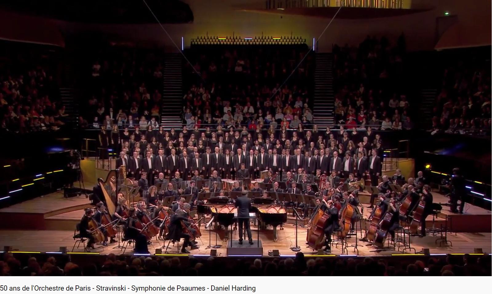 Stravinsky Symphonie de Psaumes